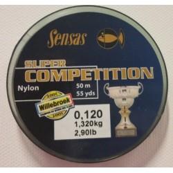 Fil nylon Sensas Compétition 50m