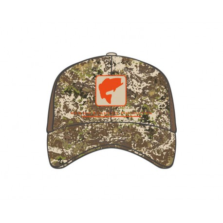 Casquette Bass Icon Trucker River Camo simms