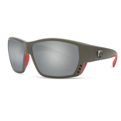 Lunettes Polarisante Costa Tuna Alley Race Grey 580 G Grey Silver Mirror