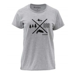 Women's Trout Crossing T-Shirt Simms